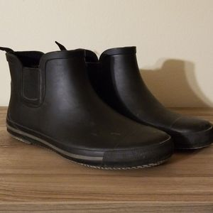 London Fog waterproof Rain Boots sz. 10